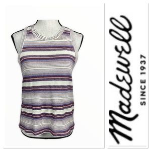 🆕 Madewell stripped tank top